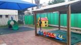 חצר משחקים במעון ילדים ברמלה