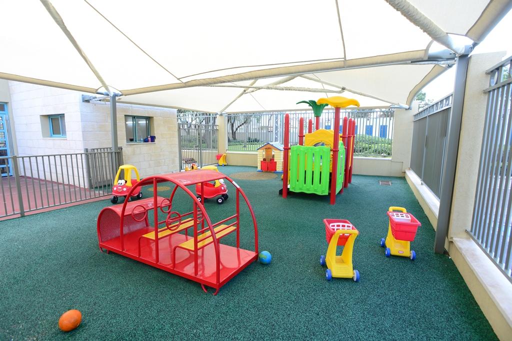 חצר בגן ילדים